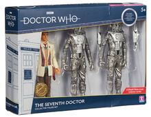 The seventh doctor collector figure set