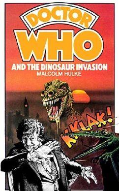 Dinosaur invasion hardcover