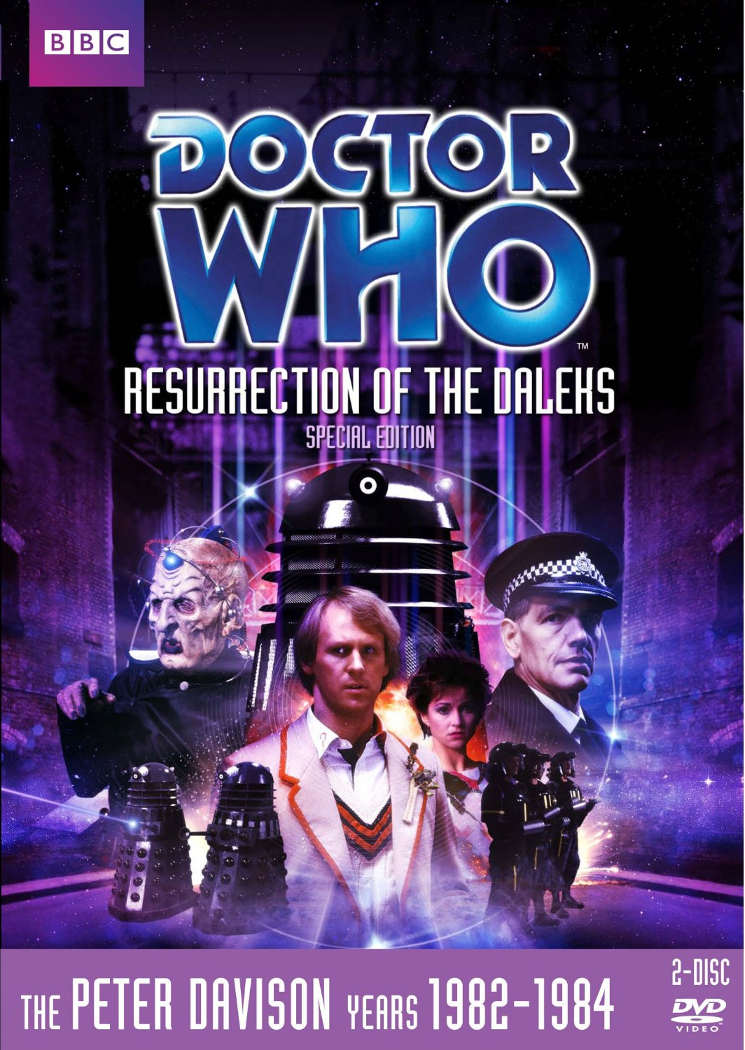 Resurrection of the daleks special edition us dvd