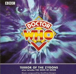 Terror of the Zygons soundtrack cd