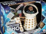 Dalek Emperor Davros and Destroyed Imperial Dalek
