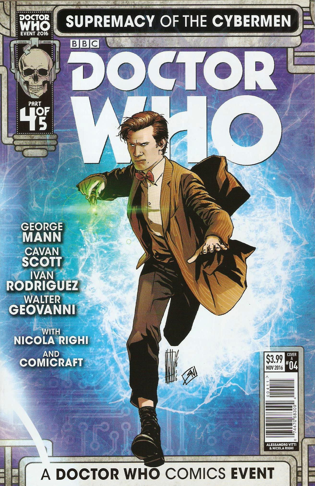 Supremacy of the cybermen issue 4a