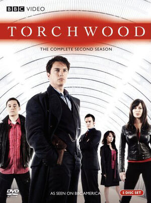 Torchwood complete second series us dvd