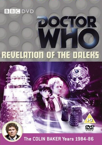 Revelation of the daleks uk dvd