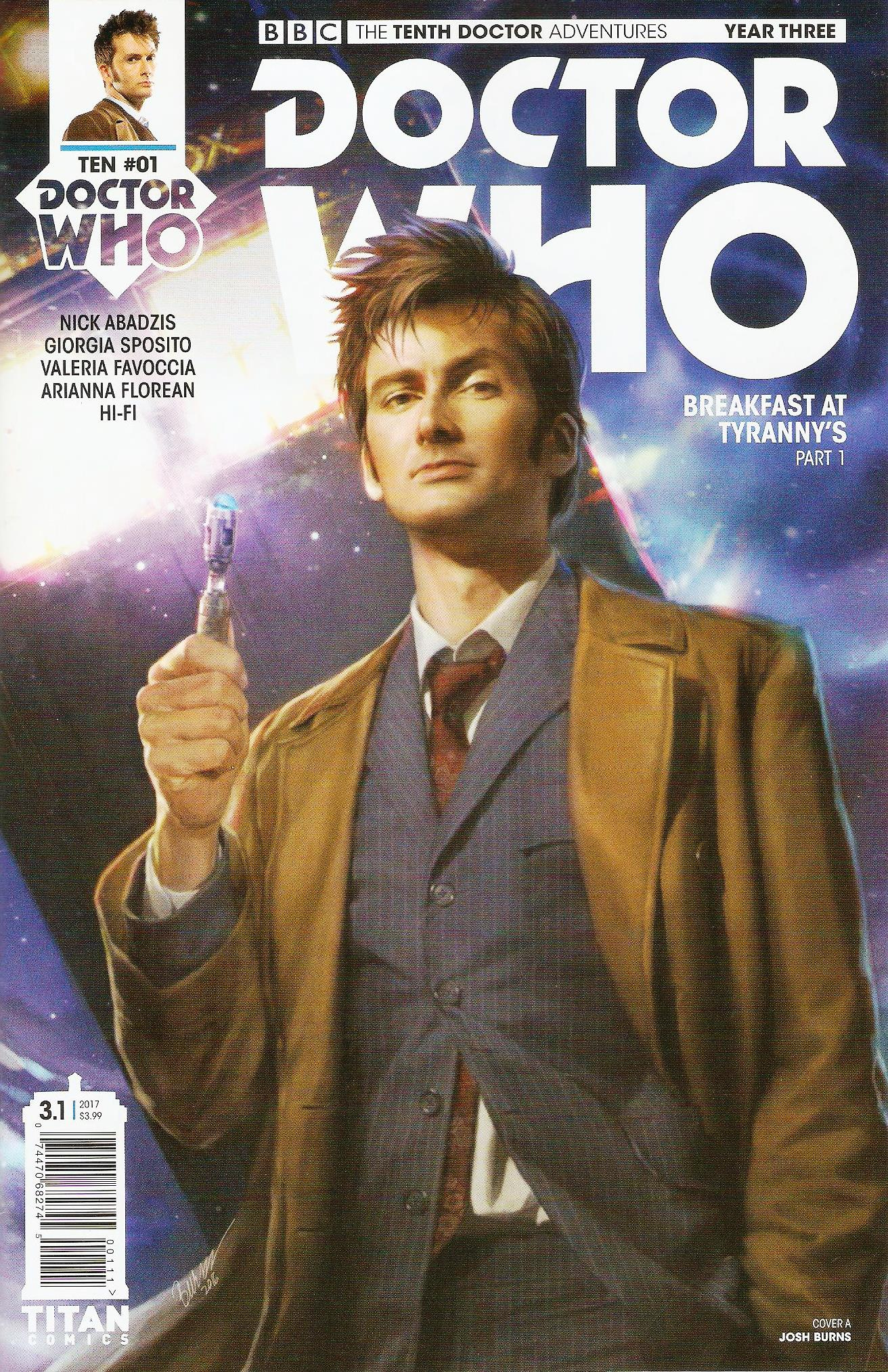 Tenth doctor year 3 issue 1a