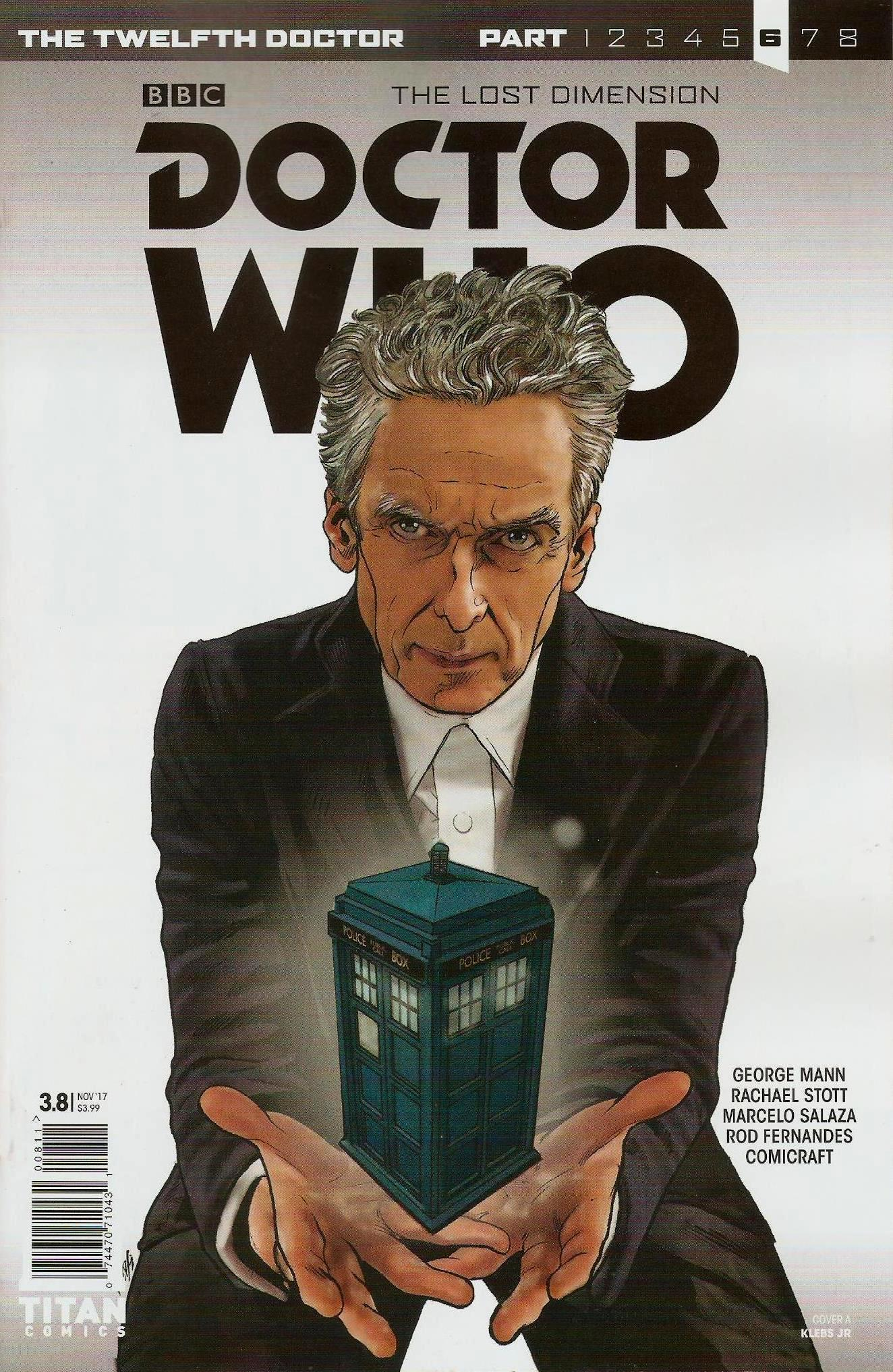 Twelfth doctor year 3 issue 8a
