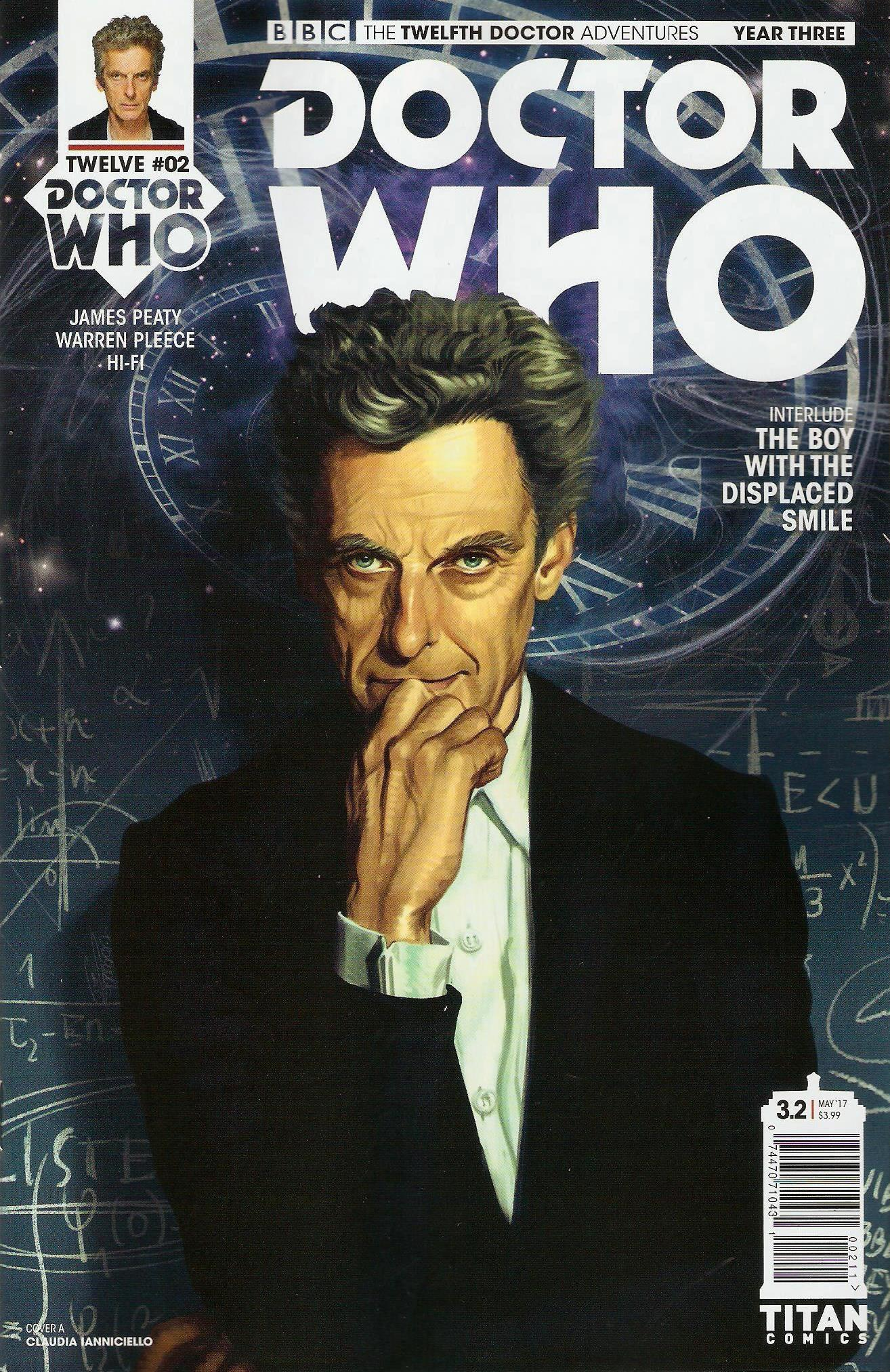 Twelfth doctor year 3 issue 2a