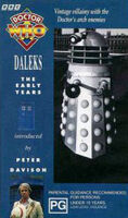 Daleks early years australia vhs