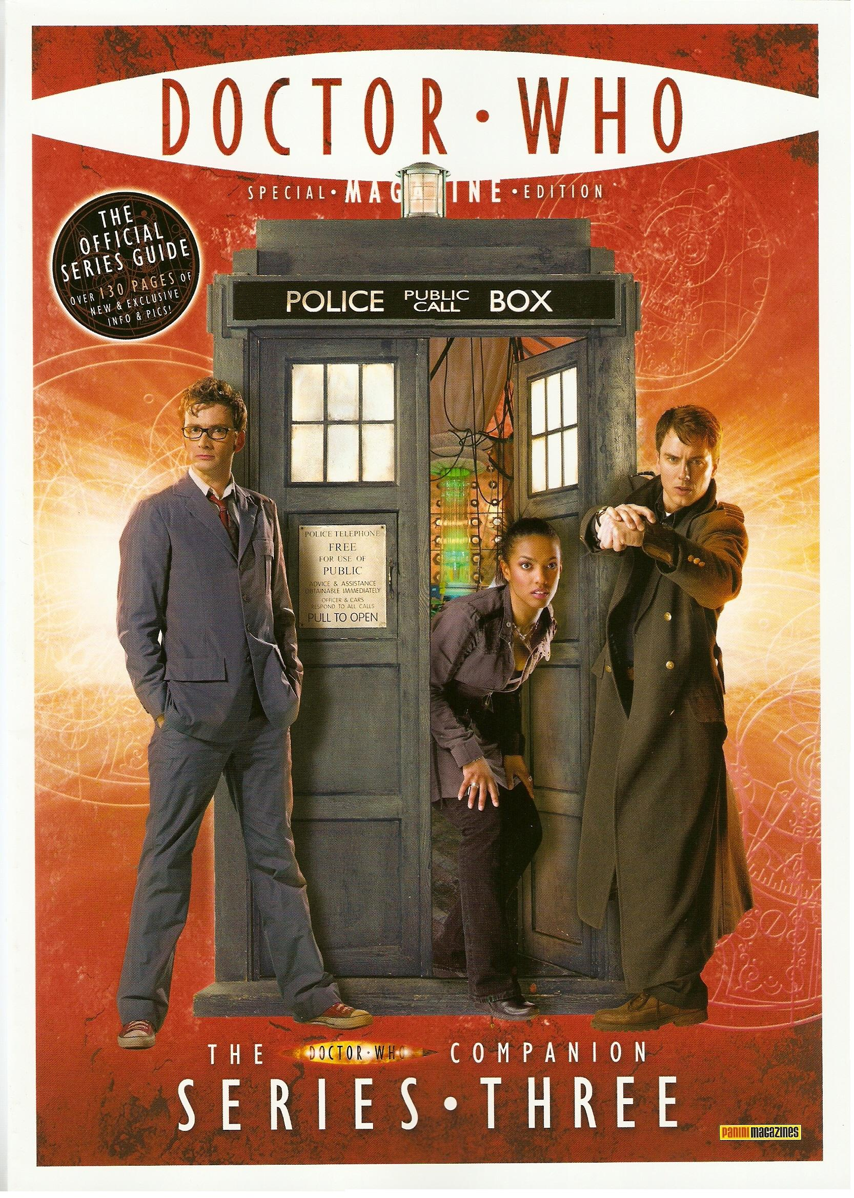 Dwm se doctor who companion series three
