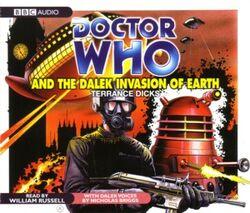 Dalek invasion of earth cd