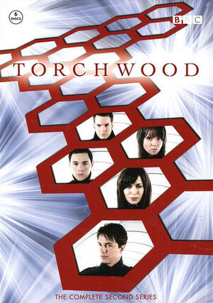 Torchwood complete second series sweden dvd