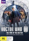 Time of the doctor australia dvd