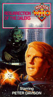 Resurrection of the daleks us vhs