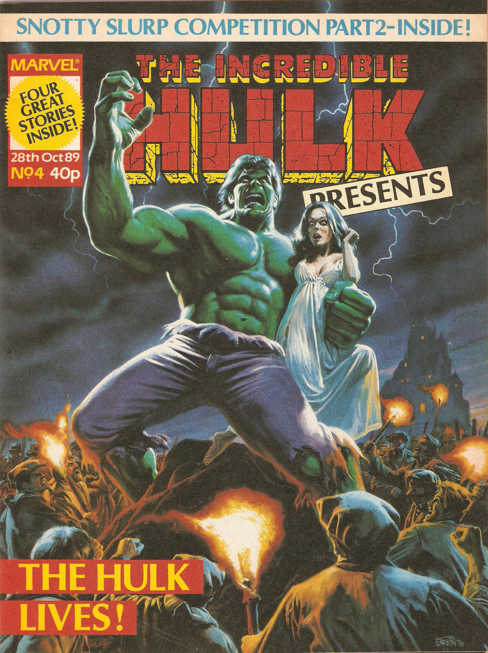Incredible hulk presents 4
