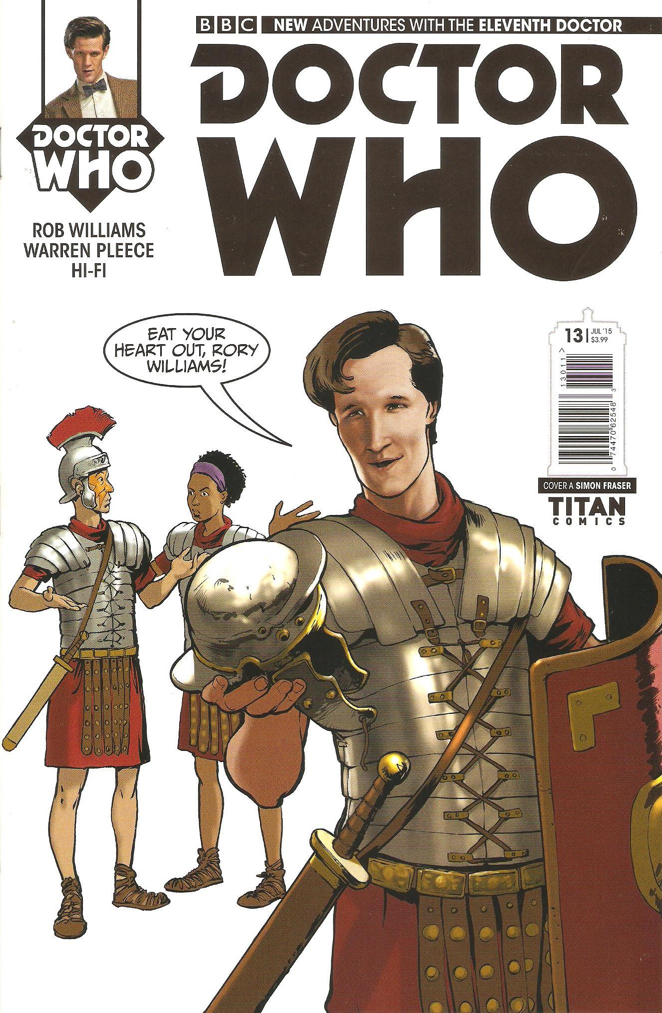 Eleventh doctor issue 13a