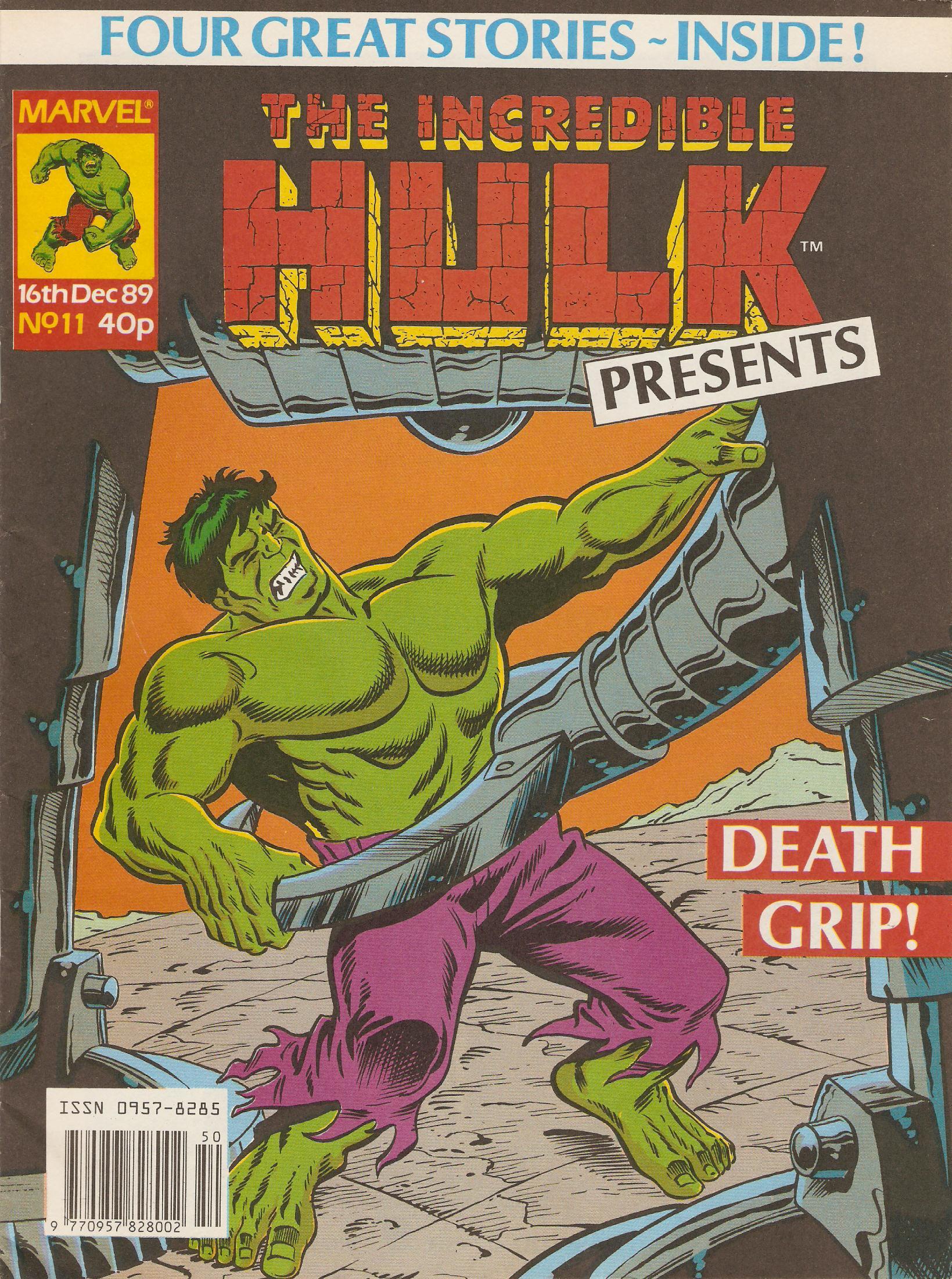 Incredible hulk presents 11