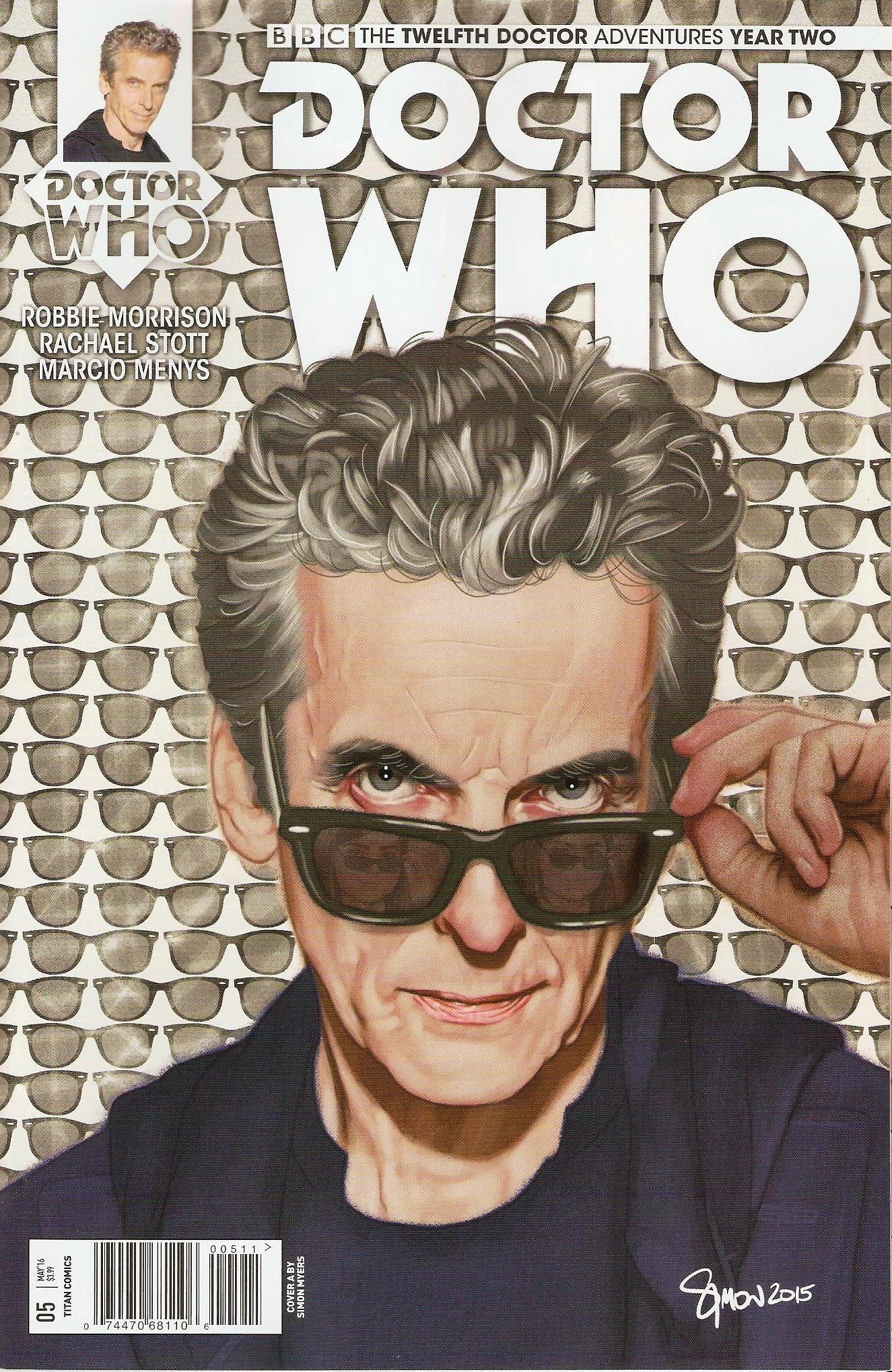 Twelfth doctor year 2 issue 5a