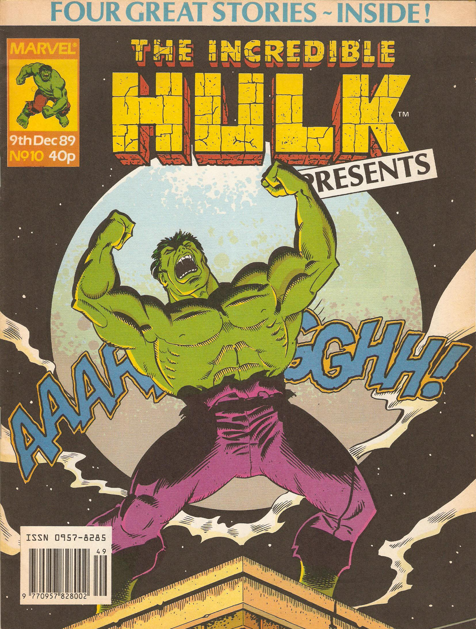 Incredible hulk presents 10