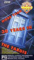 More than 30 years in the tardis australia vhs