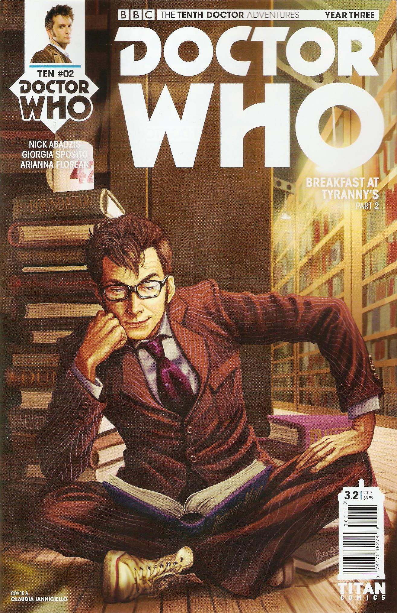 Tenth doctor year 3 issue 2a