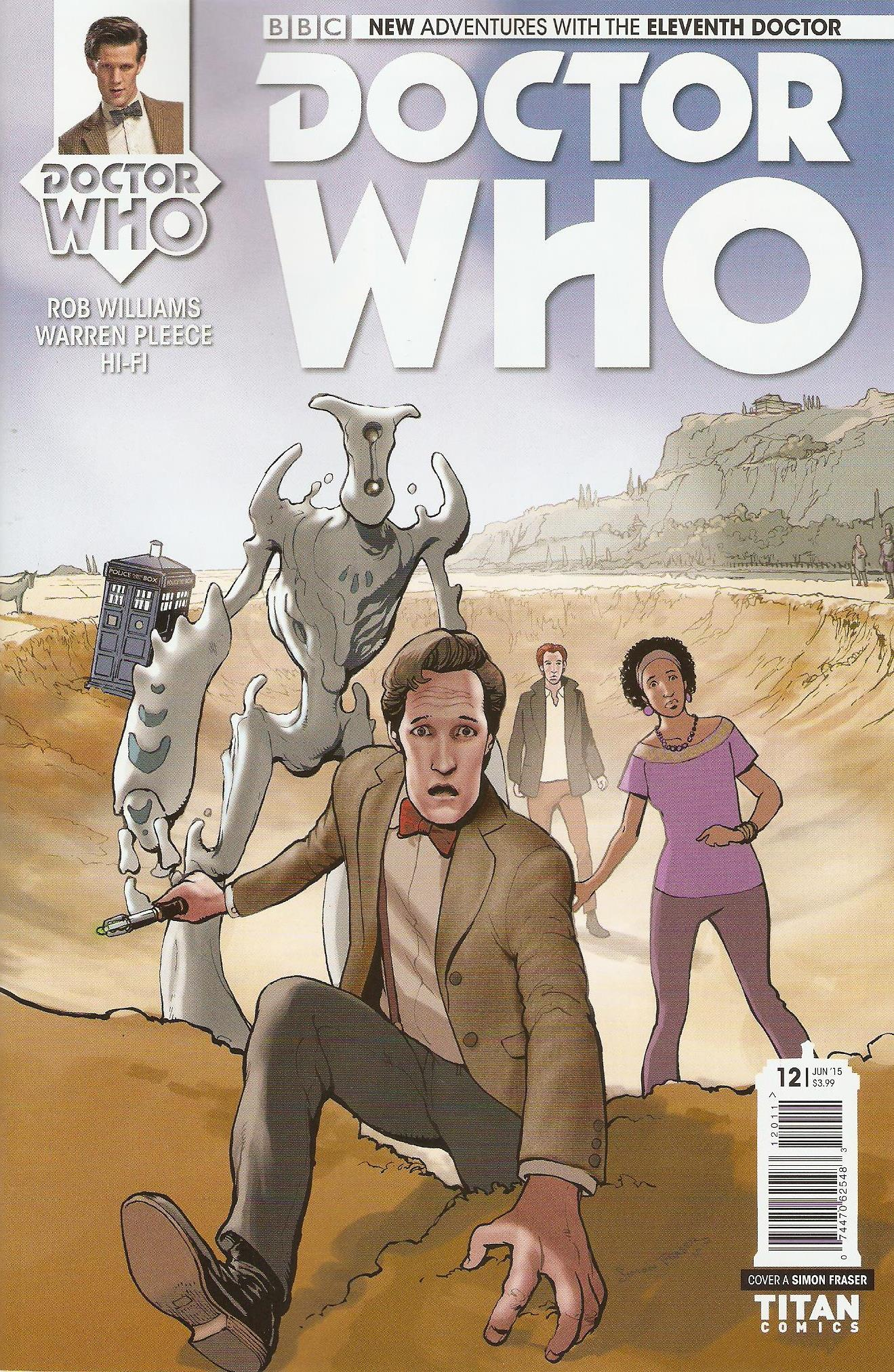 Eleventh doctor issue 12a