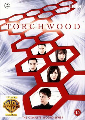 Torchwood complete second series denmark dvd