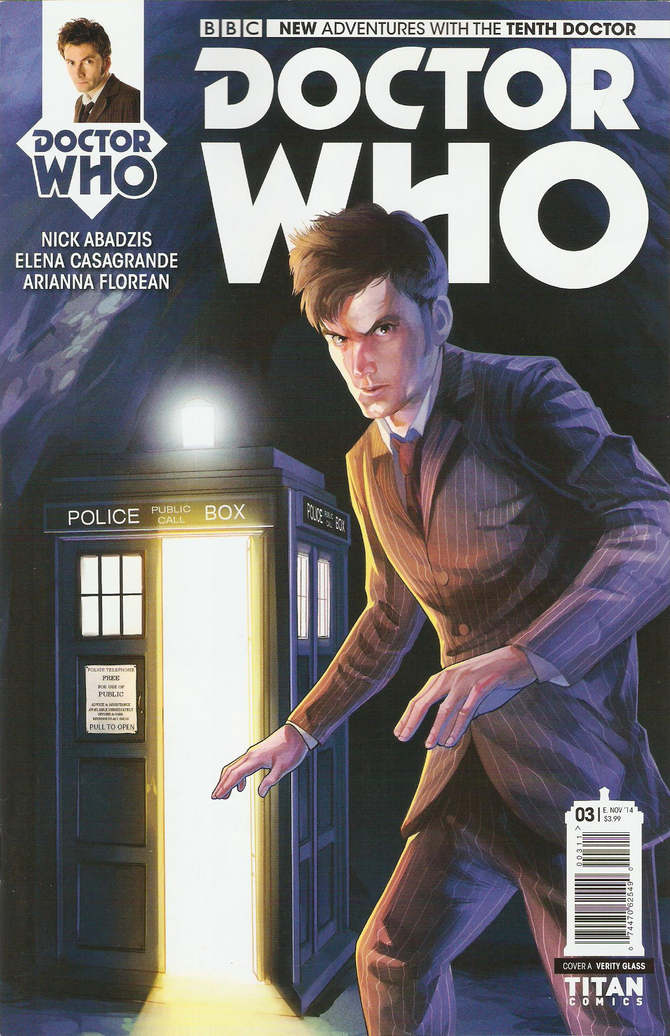 Tenth doctor issue 3a