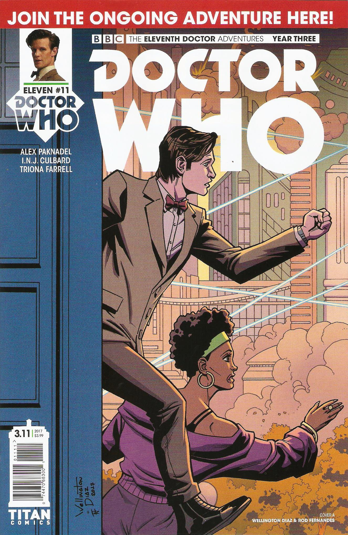 Eleventh doctor year 3 issue 11a
