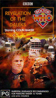 Revelation of the daleks australia vhs