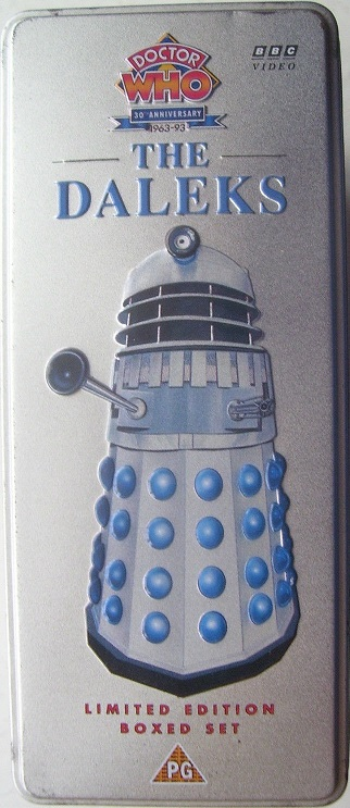 Daleks limited edition boxed set uk vhs