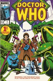 Marvel doctor who issue 1