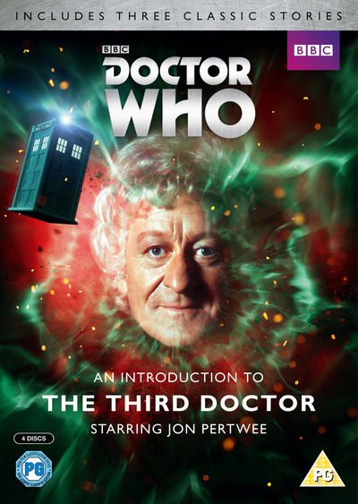 Introduction to third doctor uk dvd