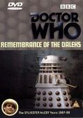 Remembrance of the daleks uk dvd