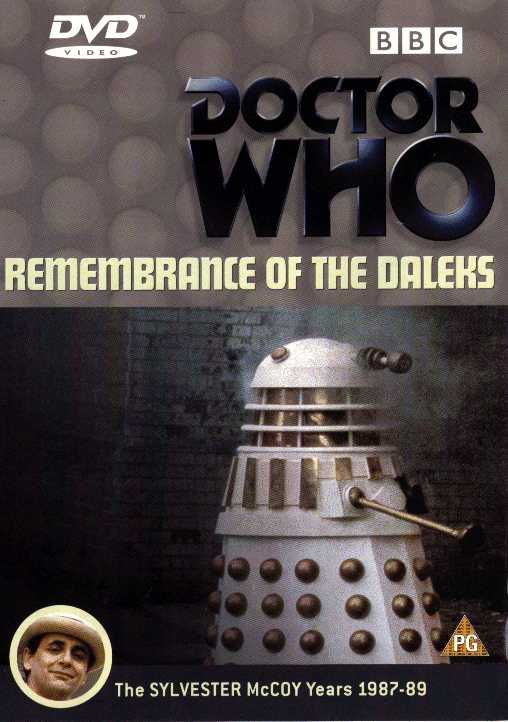 Remembrance of the daleks uk dvd
