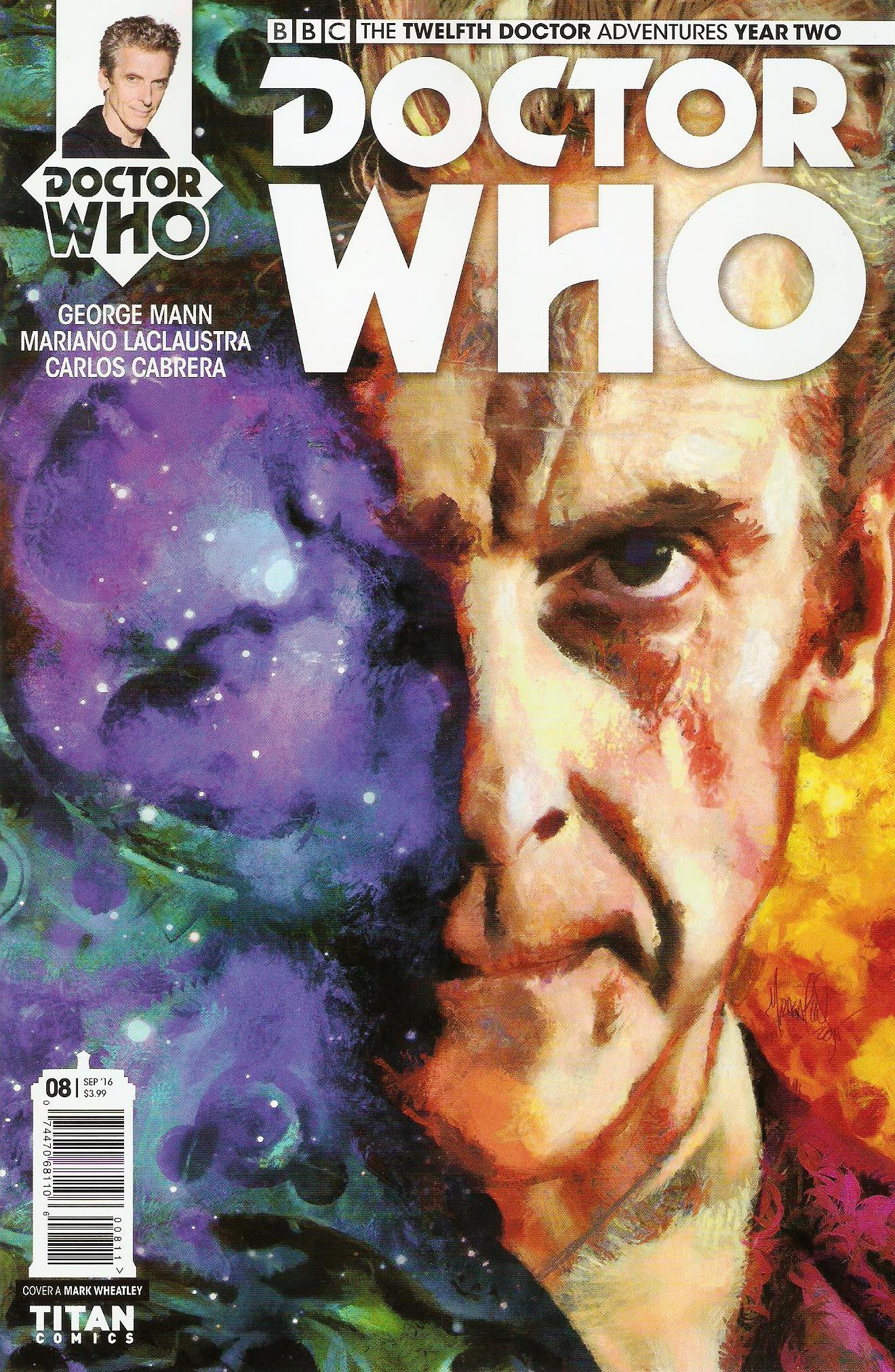 Twelfth doctor year 2 issue 8a