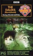 Daleks remastered australia vhs