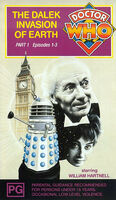 Dalek invasion of earth part 1 australia vhs