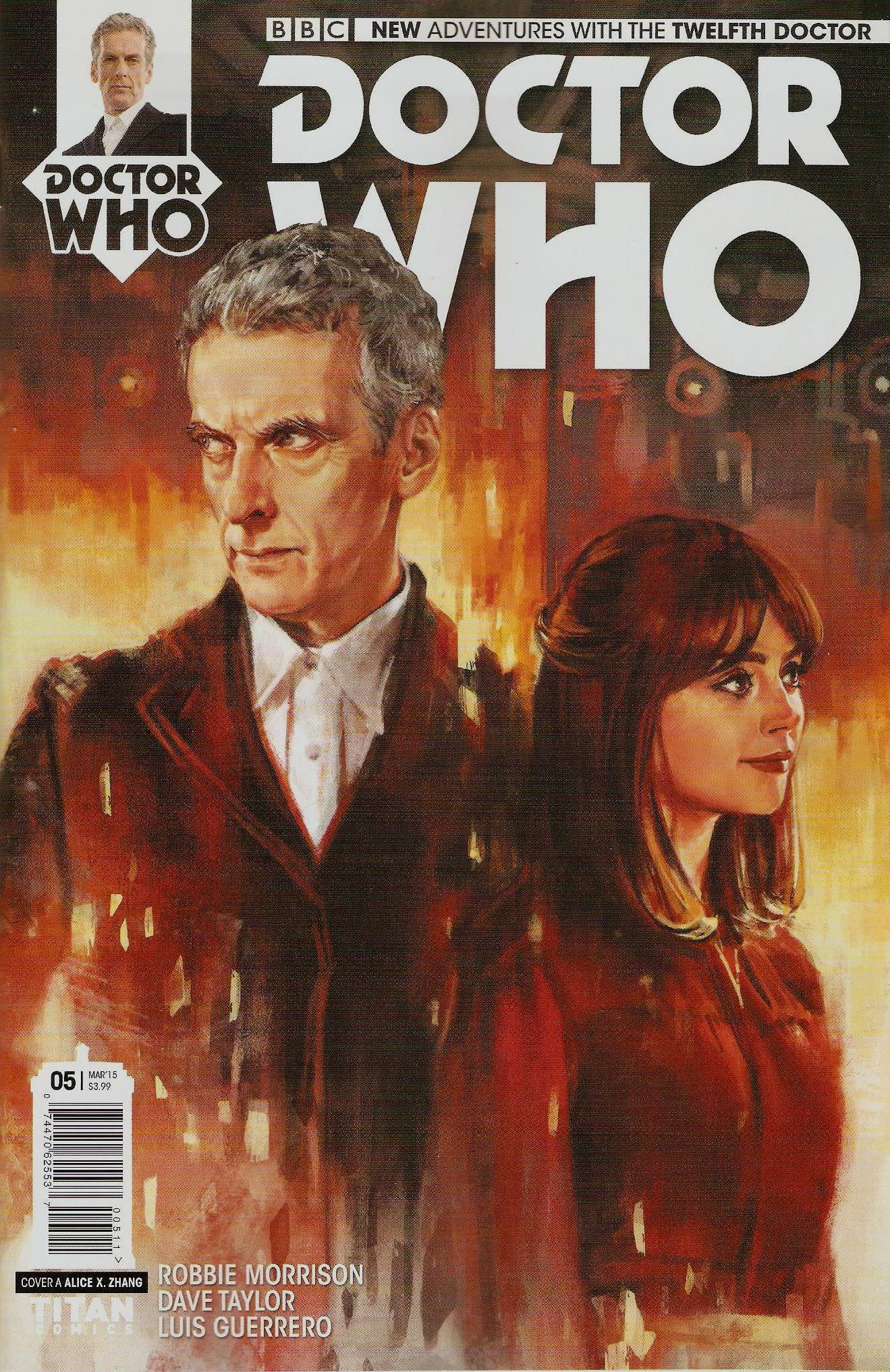 Twelfth doctor issue 5a
