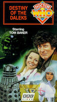 Destiny of the daleks us vhs