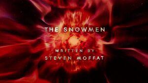 The snowmen title card