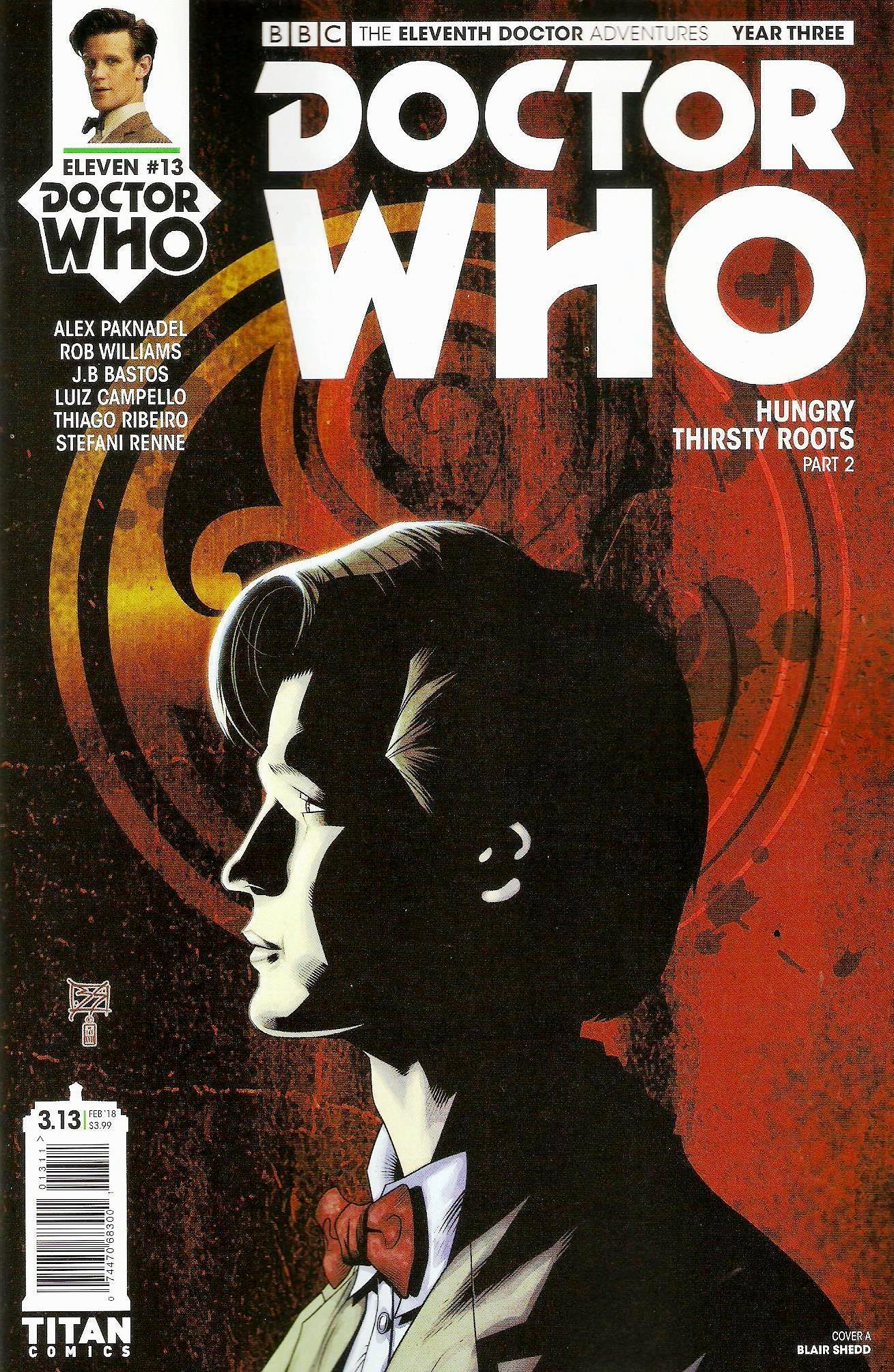 Eleventh doctor year 3 issue 13a