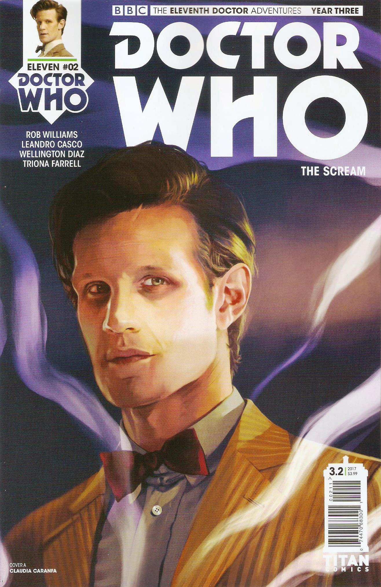 Eleventh doctor year 3 issue 2a