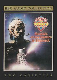 Genesis of the daleks slipback cassette