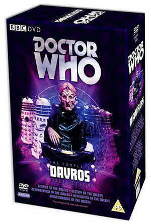 Complete davros collection uk dvd