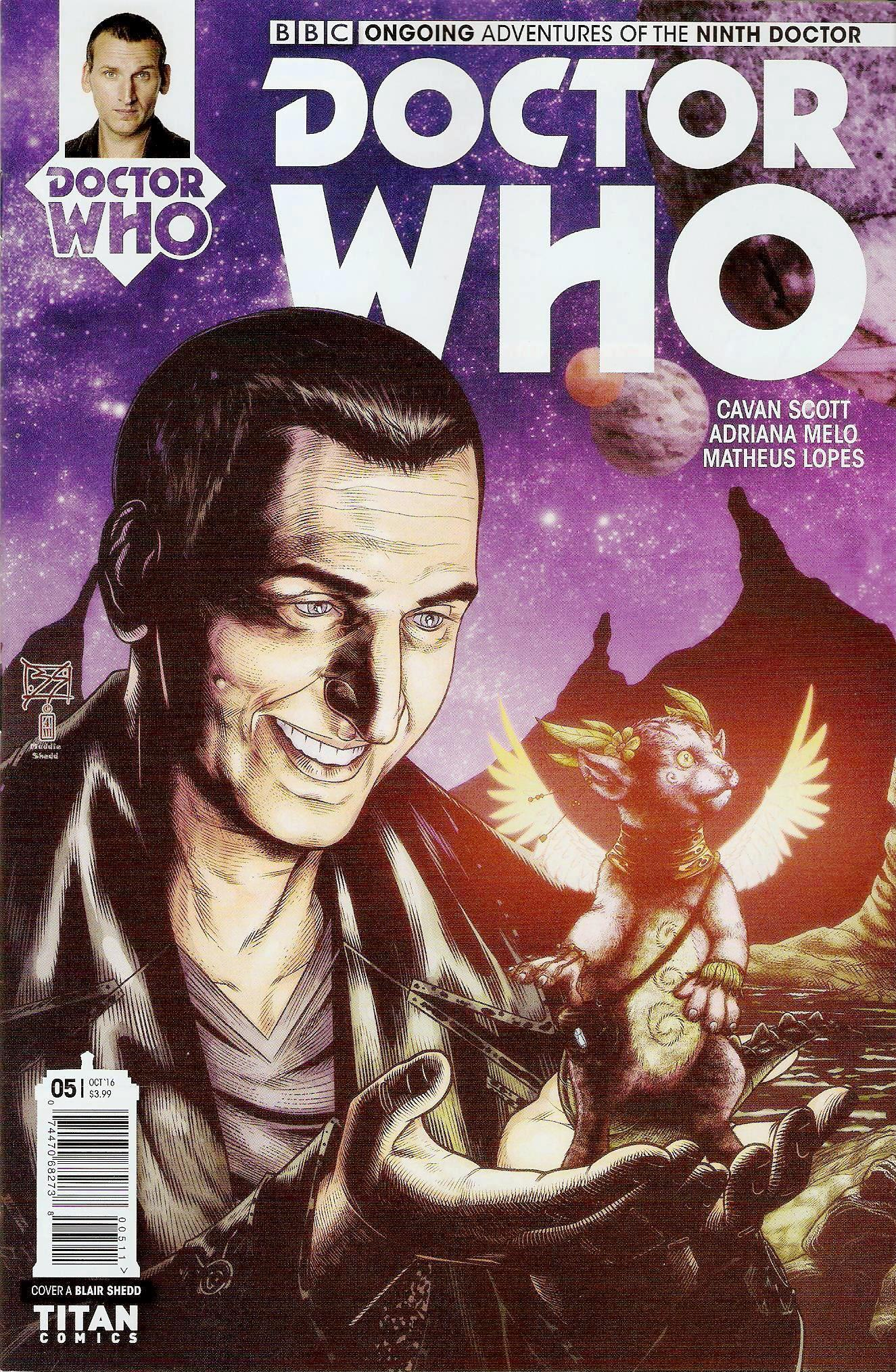 Ninth doctor ongoing issue 5a
