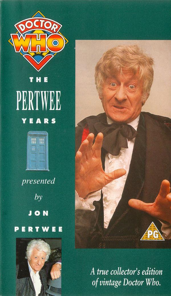 Pertwee years uk vhs