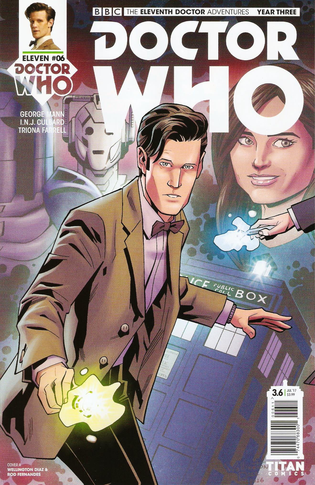 Eleventh doctor year 3 issue 6a