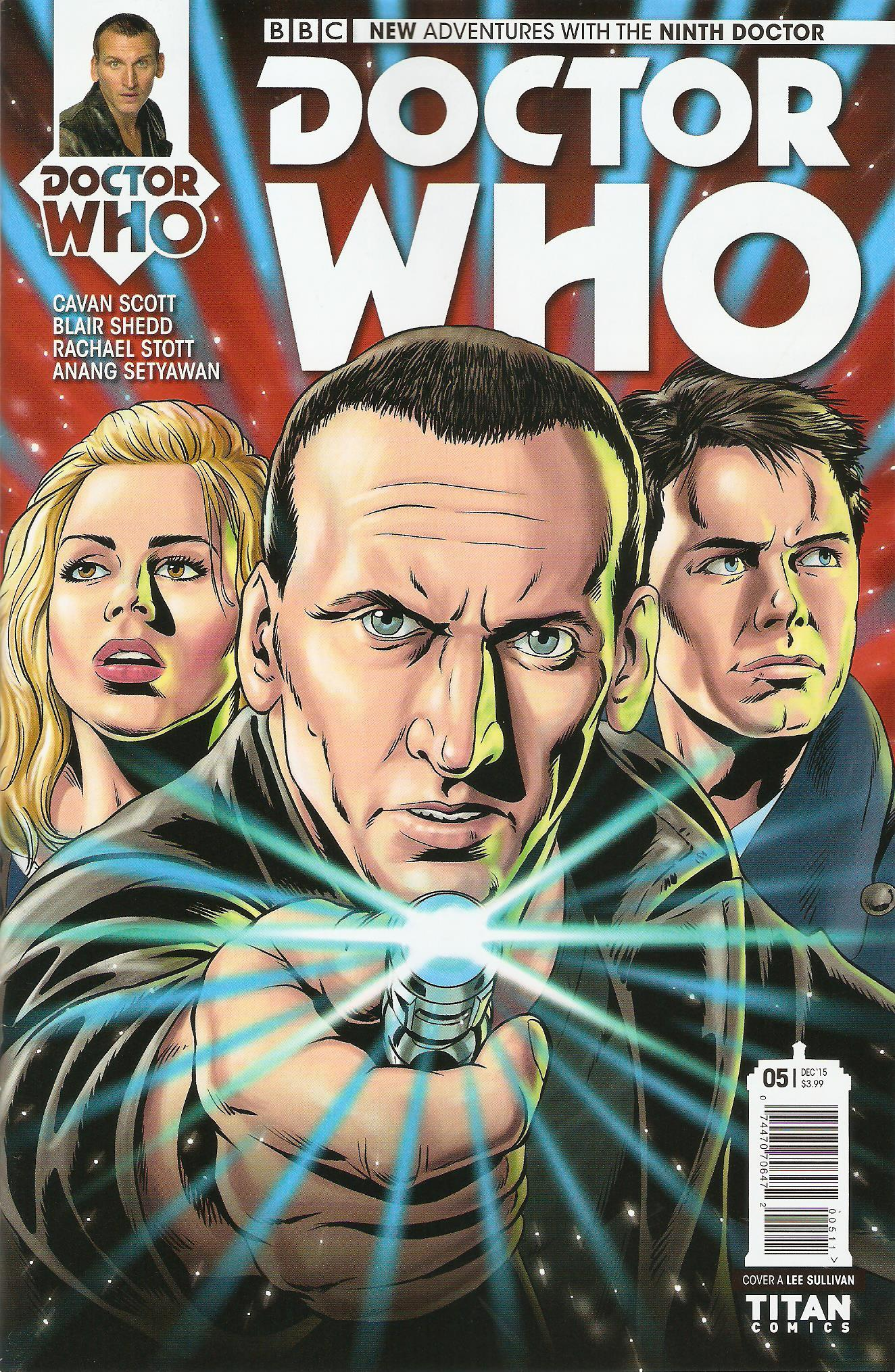 Ninth doctor issue 5a