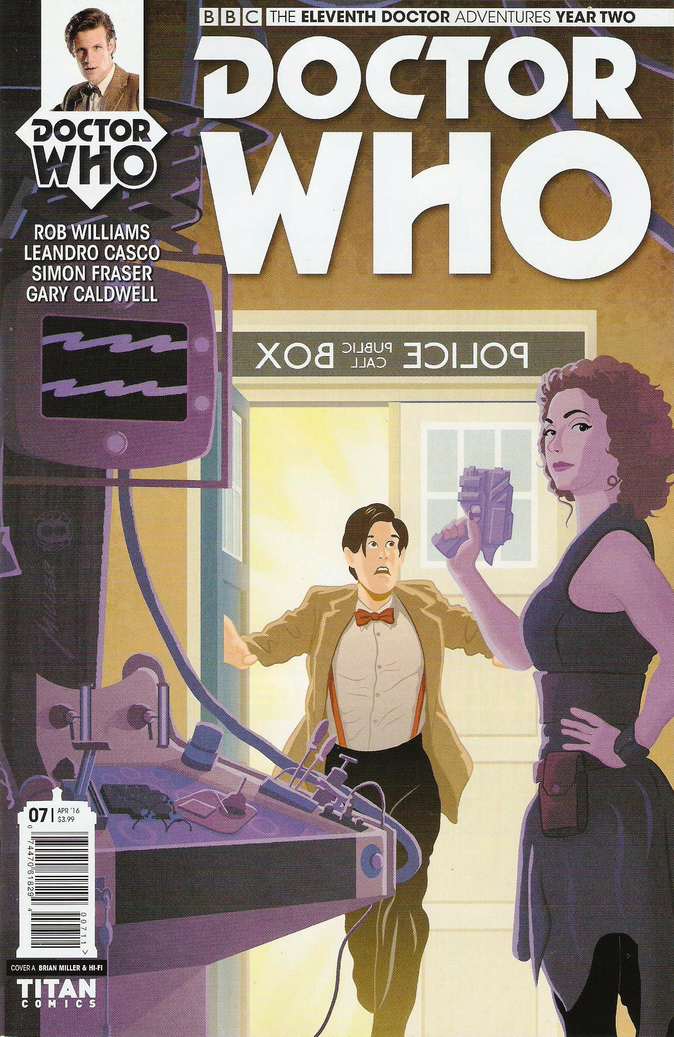 Eleventh doctor year 2 issue 7a