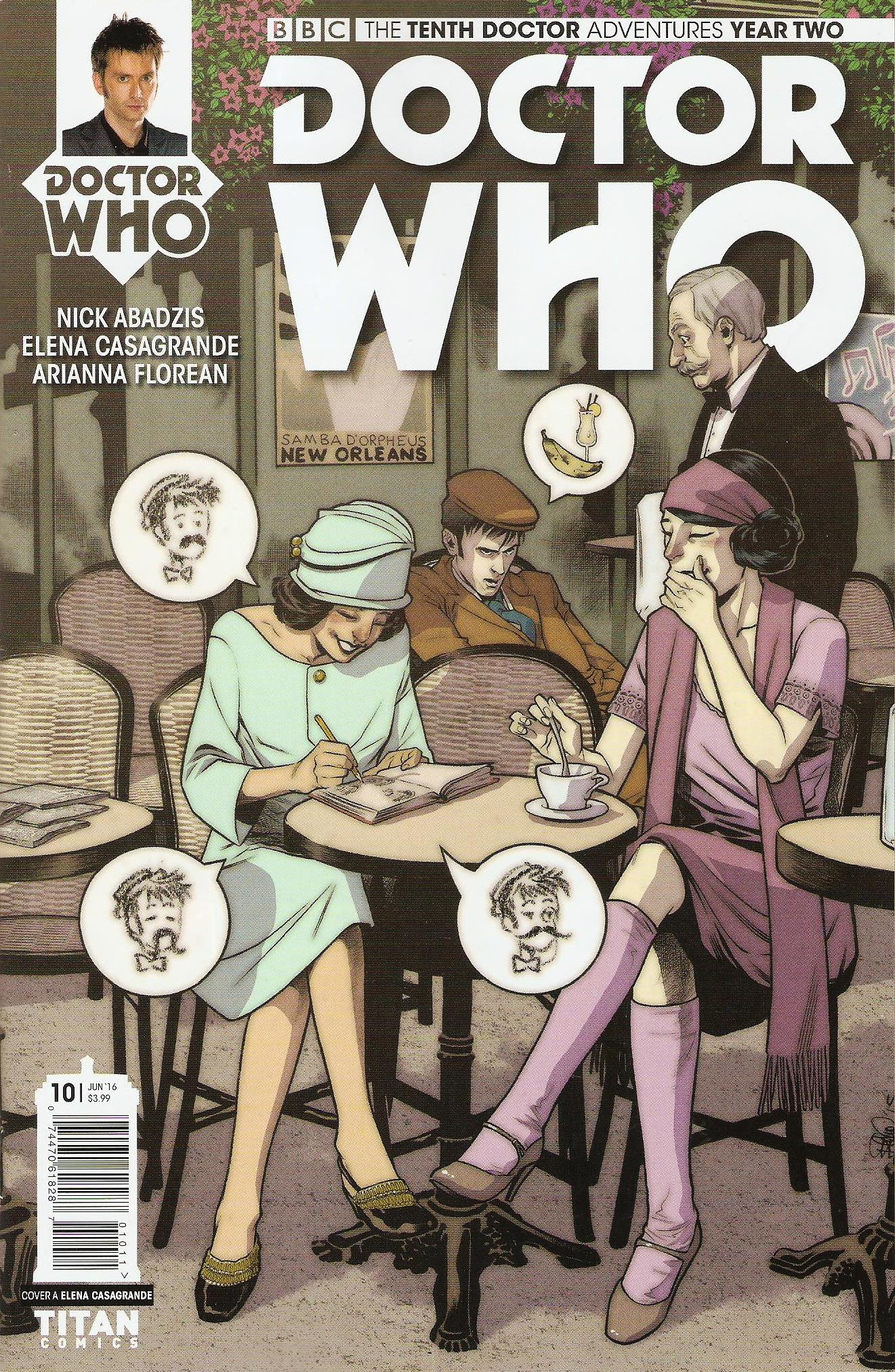 Tenth doctor year 2 issue 10a